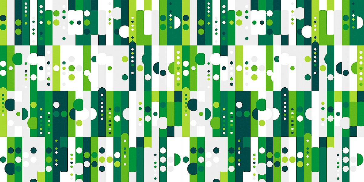 Green Forest Pattern Design by Russfuss